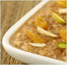 One of the yummy and healthy desserts that is prepared using Dabur Hommade CoconutSheera. http://goo.gl/SR6DUx