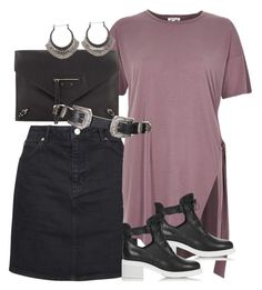 """""""Untitled #2169"""" by erinforde ❤ liked on Polyvore featuring Topshop, River Island and Balenciaga"""