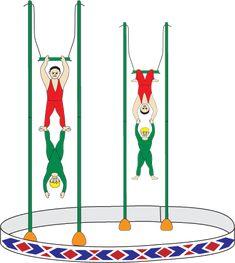 Circus Trapeze Artists craft