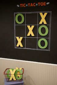 East Coast Creative: Interactive Playroom Wall {Five Foot Twelve Creations}