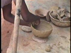 Nigerian Pottery: Igbo, Yoruba, Gwari, Bini - YouTube