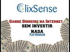 13 - Ganhe dinheiro sem Investir nada - ClixSense