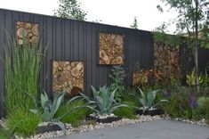 New wall garden bamboo landscape design ideas