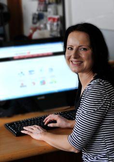 Daniela Krapick - setzt die Ideen des Chefs um