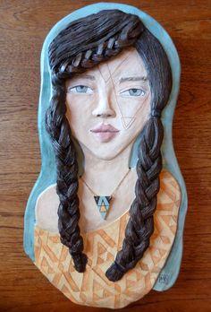 Ceramic Portrait  meeganbarnes.com
