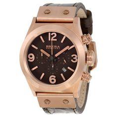 Brera Orologi Eterno Piccolo Brown Dial Brown Leather Watch (W-BRET2C3851)
