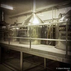 tanques da fábrica da Baden Baden