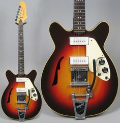 Micro-Frets Guitars Spacetone 1971