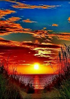 Beautiful sunset landscape more at @ Nature Pictures, Cool Pictures, Beautiful Pictures, Sunrise Pictures, Sunset Pics, Amazing Sunsets, Amazing Nature, Foto Picture, Beautiful Sunrise