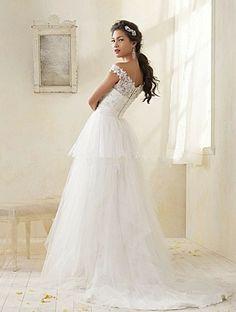 alfred angelo modern vintage bridal lace cap sleeve sheath wedding ...