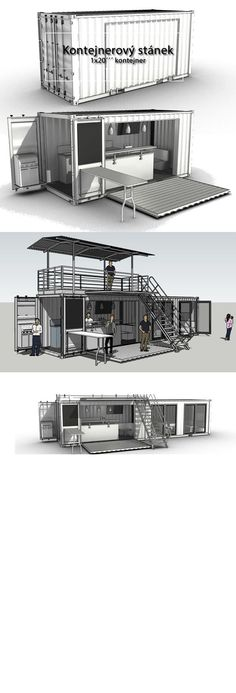 House Container Design Coffee Shop 26 New Ideas Shipping Container Restaurant, Shipping Container Buildings, Shipping Container Design, Shipping Containers, Shipping Container Store, Food Containers, Container Home Designs, Container Architecture, Container Coffee Shop