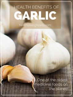 Health Benefits of Garlic | healthylivinghowto.com...and lots of recipes using garlic