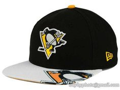 Pittsburgh Penguins Gym Class Snapback Hats Brim Big Logo|only US$8.90 - follow me to pick up couopons.