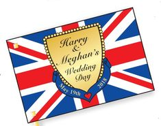Children can celebrate the wedding of Harry and Meghan with our superb flag craft! Elderly Activities, Preschool Activities, Tea Party Wedding, Wedding Day, Harry And Meghan Wedding, Royal Craft, Diy And Crafts, Crafts For Kids, Royal Party