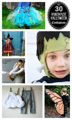 30 Handmade Halloween costume ideas!