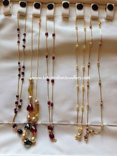 Jewerly Gold Chain Bijoux For 2019 Pearl Necklace Designs, Diy Jewelry Necklace, Gold Earrings Designs, Beaded Jewelry, Gold Necklace, Fringe Necklace, Pearl Jewelry, Jewelry Bracelets, Gold Chain Design