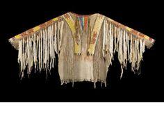 A Sioux quilled war shirt