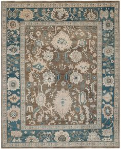 Safavieh Sultanabad Sul1073A Blue  Rug