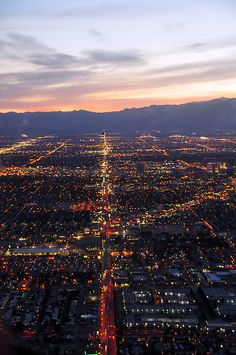 las vegas at night - How can you not love this city Las Vegas Vacation, Vacation Spots, Vacation Places, Vacations, Places To Travel, Places To See, City From Above, Nevada Usa, Desert Life
