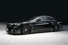 2014 CLS63 AMG Black | Black Bison 2012 Mercedes CLS 63 AMG by Wald International - Garage ...