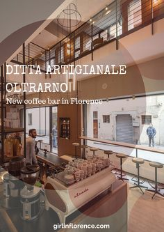 Hipster heaven at brand-new coffee bar in Florence: Ditta Artigianale Oltrarno on via dello sprone 5r | Girl in Florence Blog