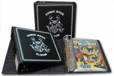 "BCW 3 Inch ""D Ring"" COMIC BOOK Collecting Album (Single) Binder - BLACK:Amazon:Toys & Games"