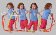 Why spinning round & round is great for kids!