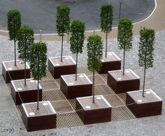 tree planters, External furniture - ESI.info