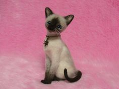 Needle Felted Cat | Like this item?