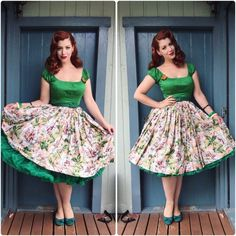 Pinup Girl Clothing Top, V is for Vintage Skirt, Malco Modes Petticoat, ModCloth Shoes Quirky Fashion, Modest Fashion, Retro Fashion, Vintage Fashion, Fashion Outfits, Outfits 2016, Vintage Skirt, Vintage Dresses, Vintage Outfits