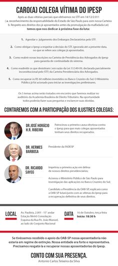 #oab-sp #ipesp #advogados #advogadas  #votoricardosayeg