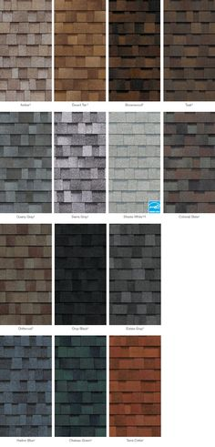 Best Asphalt Roof Shingles Colors Roofing Shingles In 2018 400 x 300