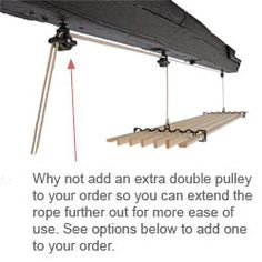 ceiling clothes drying rack