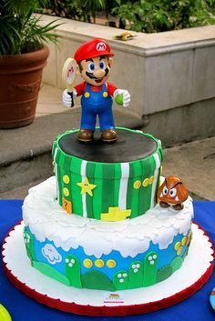 Top 10 Awesome Super Mario Cake Designs - Slicontrol.com