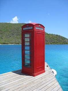 I've been at this Telephone Booth!  How cool is this?  I would never want to end the call!