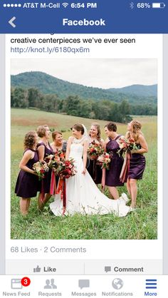 Bridesmaid dress color