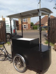 Ice Cream Bike. , Events tricycle, bicycle vending cart Cargo Bike