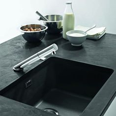 When choosing a sink for the kitchen we have a host of different options. Whiskey Barrel Sink, Cutting Board Material, House Decoration Items, Franke Sink, Kohler Sink, Glass Sink, Floor Drains, Sink Design, Windows