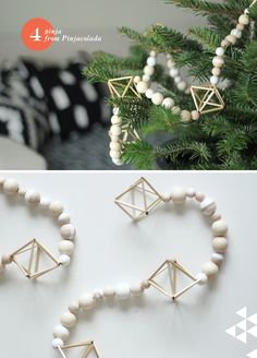 DIY: Finnish Himmeli Garland