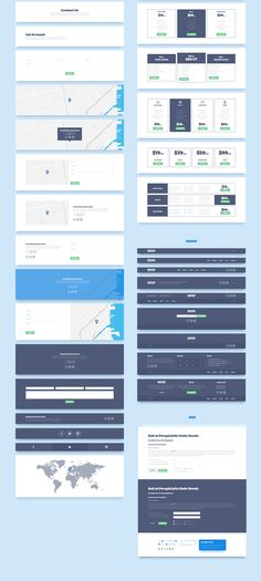 Created for quick and easy web prototyping. Consists of 160+ elements for 12 categories: Headers, Sliders, Features, Services, Portfolio, Blog/News, Team, Testimonials, Clients, Pricing, Contacts, Footers. All meant to help you build a website with ease!
