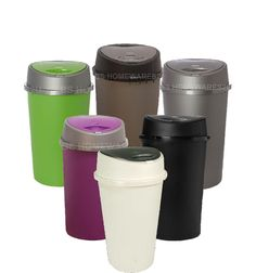 throw/collect your rubbish is very easy. out of solid plastic and with its simple bin to. HIGH QUALITY MATERIAL WITH TOUCH LID. Plastic Shop, Plastic Items, Recycling Bins, Kitchen Bins, Storage Bins, Touch, Mugs, Tableware, Nice