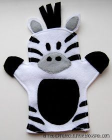 """Erratic Project Junkie: """"W"""" is for Wild Animal Hand Puppets"""