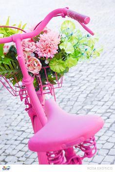 Carregamento de flores.