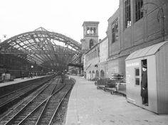 Berliner Potsdamer Fernbahnhof april 1945