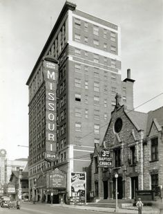 Missouri Theater, 610 North Grand Avenue. (1935)