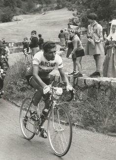Tour de France 1963. 15^Tappa, 8 luglio. Saint-Etiénne - Grenoble. Col de Porte. Federico Martin Bahamontes (1928)