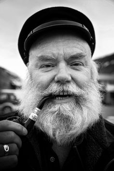 Man portrait in Longyearbyen, Svalbard (Norway)