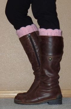 SALEKnitted Boot Cuff Boot Topper Boot Socks Boot by uptowngirlco, $10.00