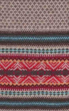 NO06012G- jaquard knit stitch