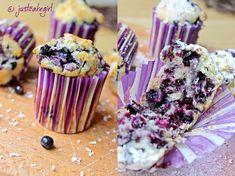 Just cake the Cupcake: Borovnice + bijela čokolada = muffins :)